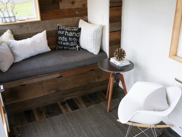 tiny space solution small living room tiny homes with wheels