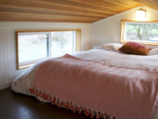 bedroom nook tiny space ideas tiny homes with wheels for sale oregon