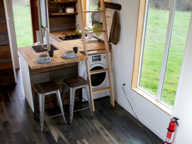small kitchen space layout small homes with wheels