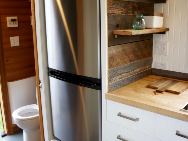 tiny kitchen space stainless steel ref small house
