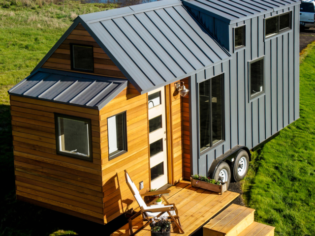 tiny house rv trailer with wheels for sale in oregon