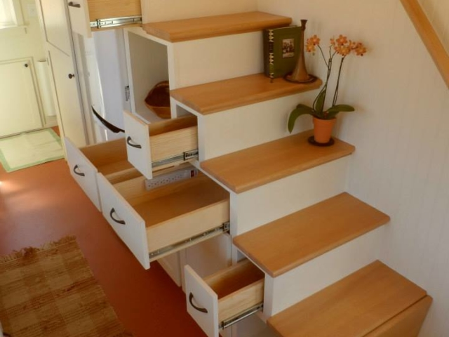 storage solution for tiny space