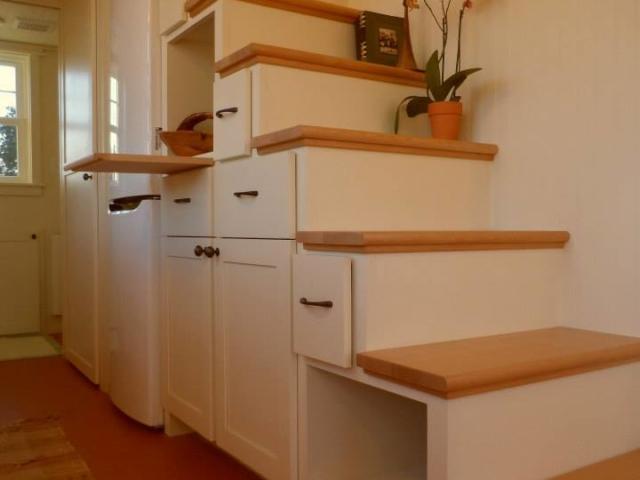 tiny homes storage ideas with wheels
