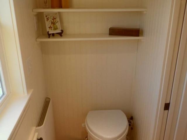 tiny bathroom toilet