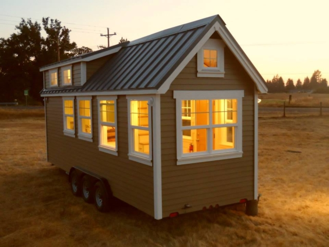 tiny home with wheels for sale in oregon