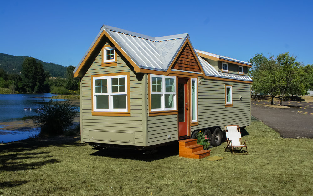 tiny homes with wheels for sale in oregon