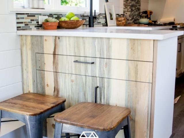 tiny house small kitchen idea