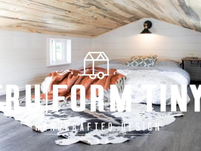 minimalist 2 bedroom tiny house idea