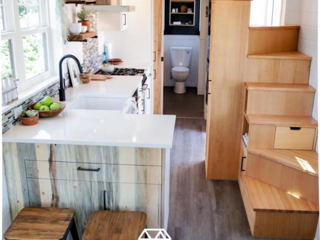 2 bedrooms small house floorplan desing