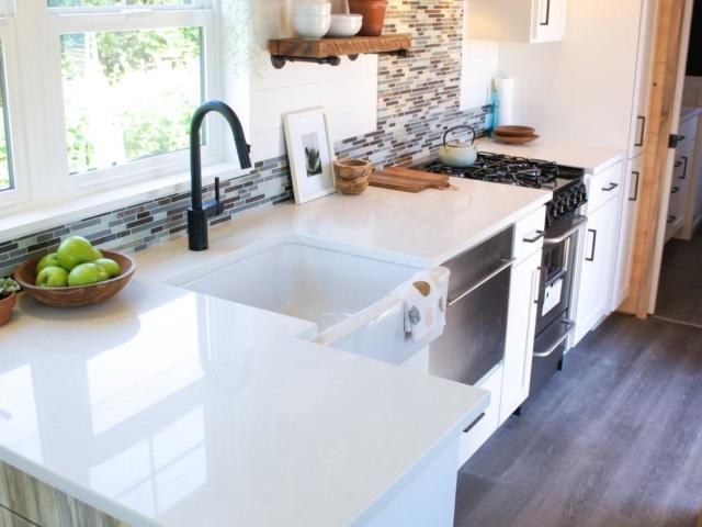 Small house small kitchen idea