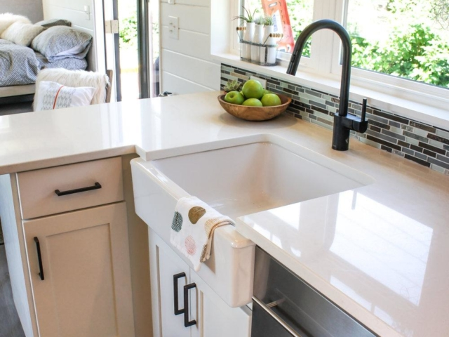 tiny kitchen with island leaf peninsula
