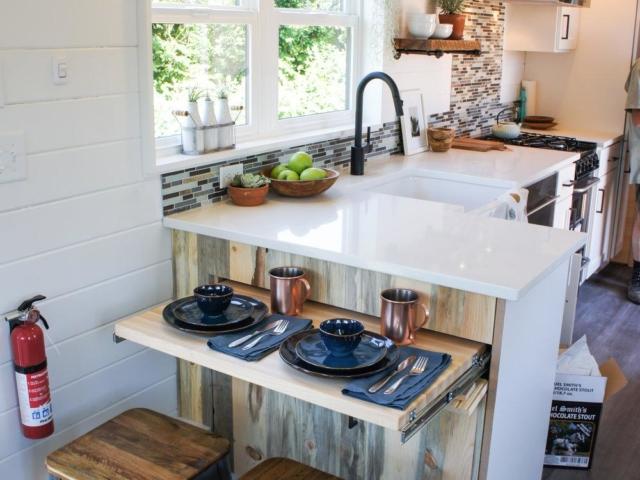 tiny kitchen idea small house