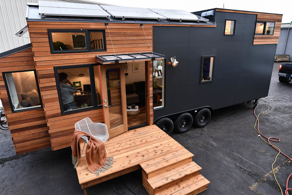 sustainable tiny home in oregon