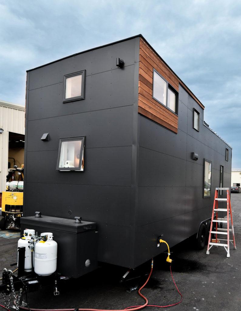 tiny house 31ft modern design Payette Urban exterior