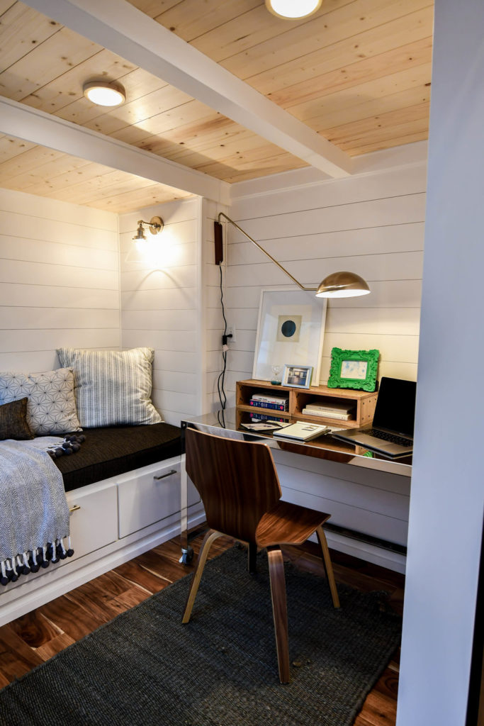 2 bedroom tiny house with study room and day bed