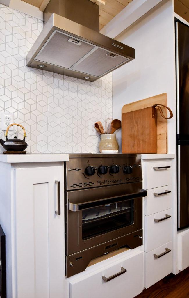 small kitchen storage solution design