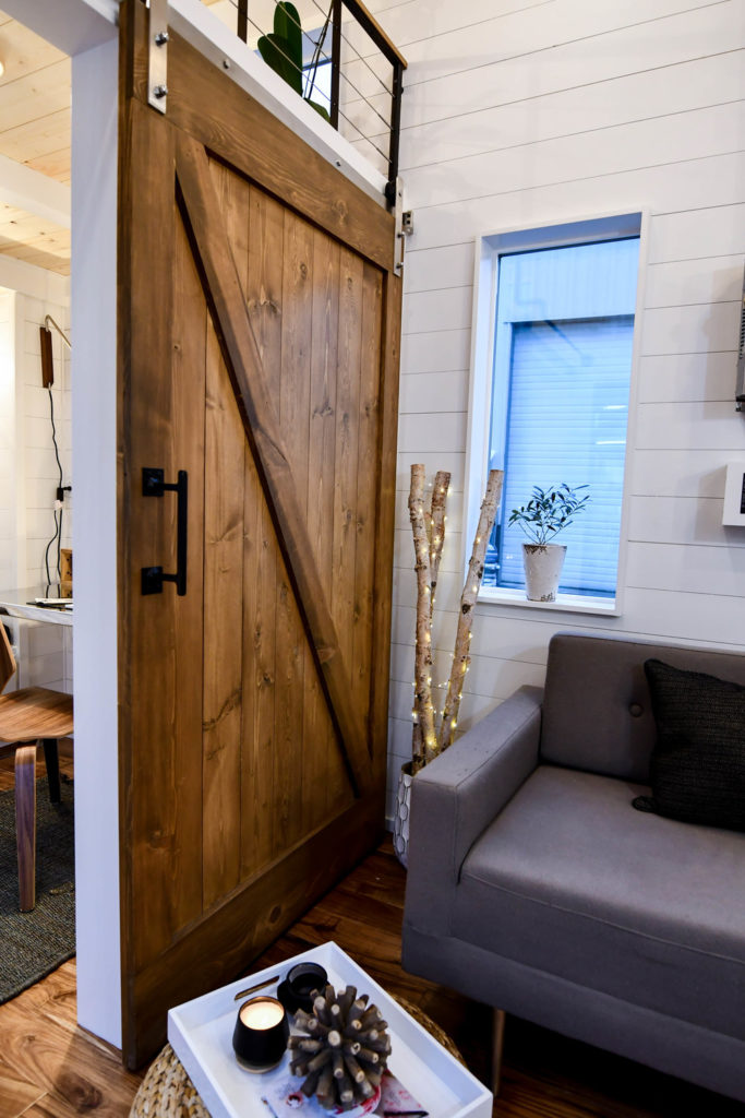 interior small house design oregon sliding door