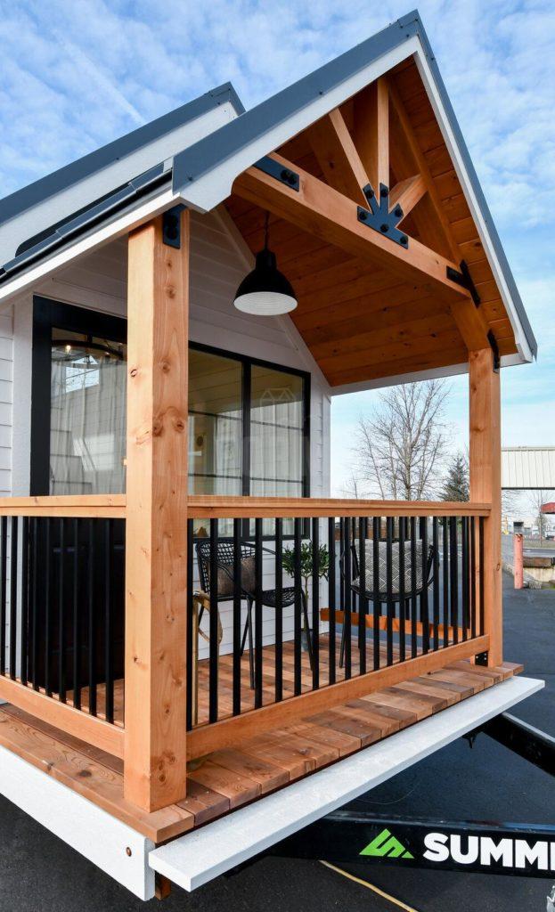 porch tiny home