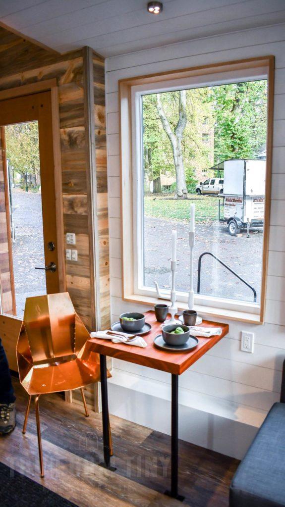 dining room tiny houses idea