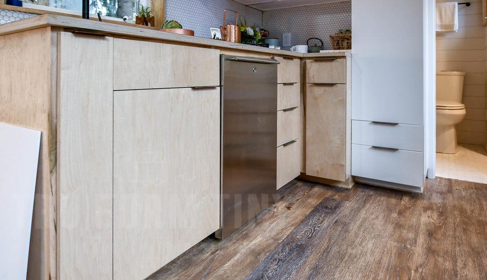 tiny urban kitchen storage