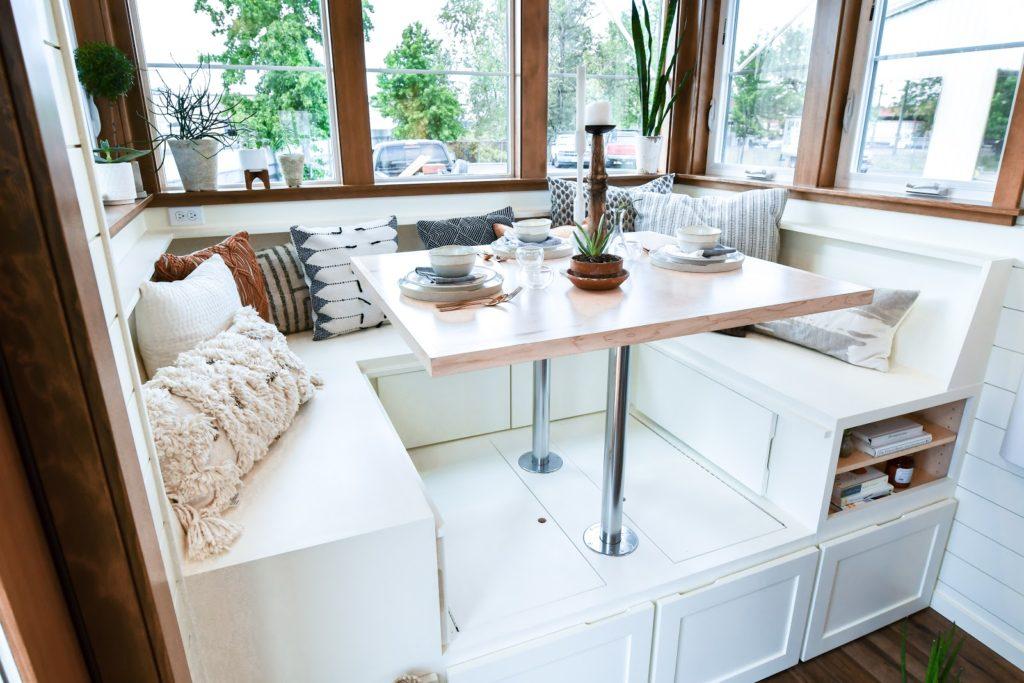 tiny cafe table