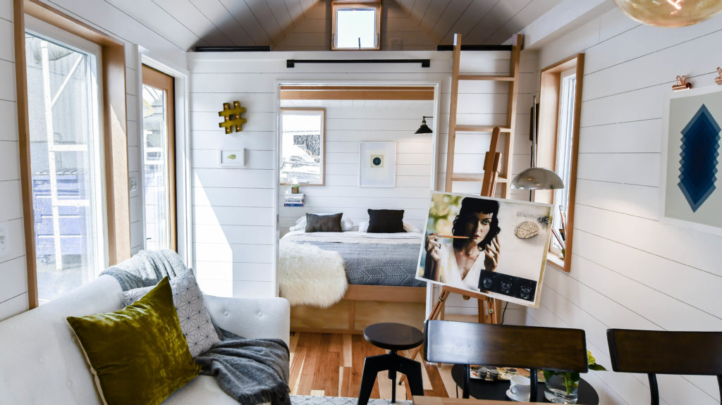 Tiny home model