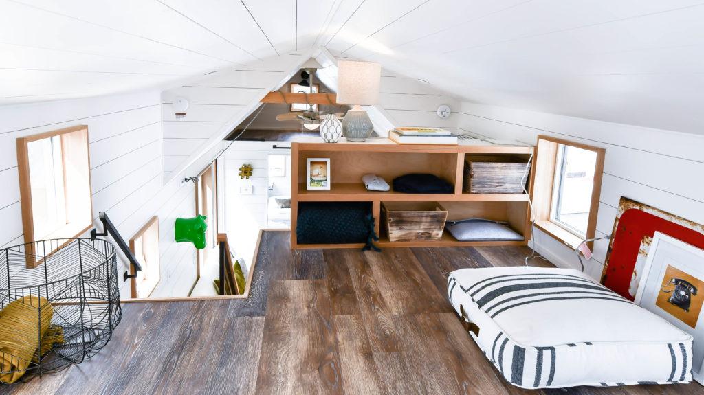 tiny home bedroom loft