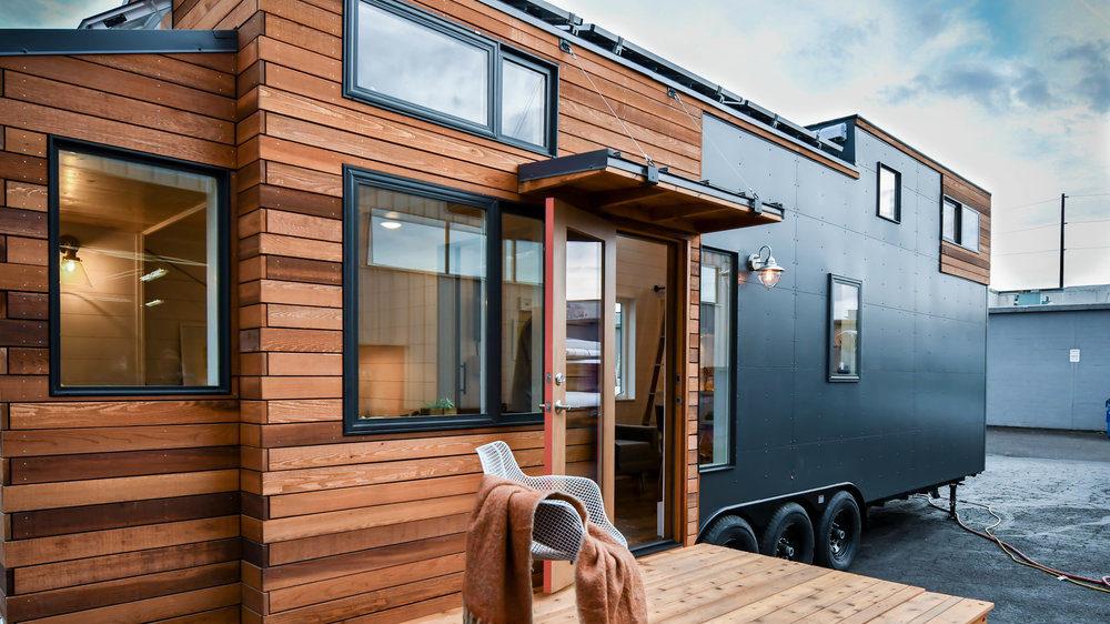 small home oregon wooden exterior