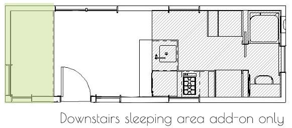 tiny home floor plan 1 bedroom