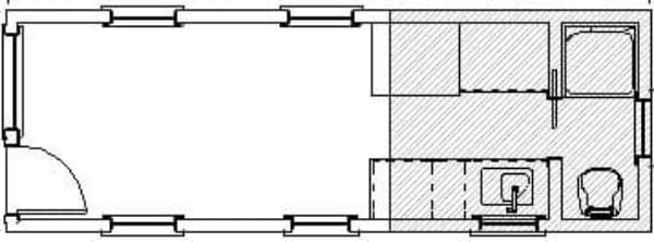 Payette small kitchen floor plan tiny home